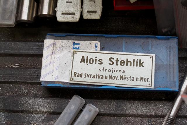 Dílna strojaře Stehlíka, Radešínská Svratka