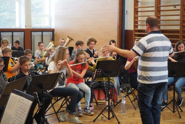 ZUŠ Bystřice nad Pernštejnem, dechový orchestr