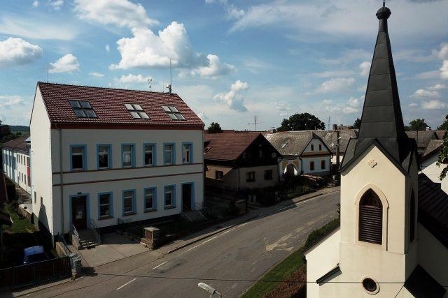 Základní škola v Čejově,  Vysočina | foto: Milan Kopecký,  Český rozhlas