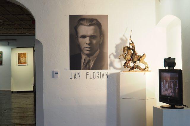 Výstava k výročí narození Jana Floriana,  Telč   foto: Dáša Kubíková,  Český rozhlas