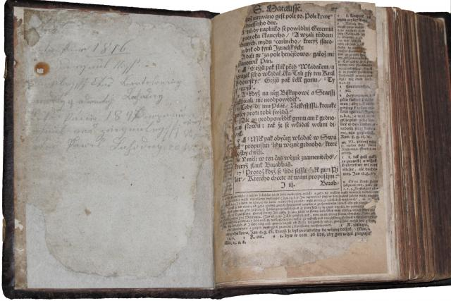 Bible, Velká Lhota