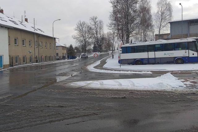 Uzavřená ulice Mírová, Havlíčkův Brod