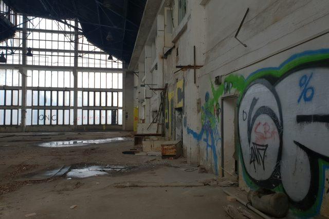 Bývalé sklárny, Dobronín