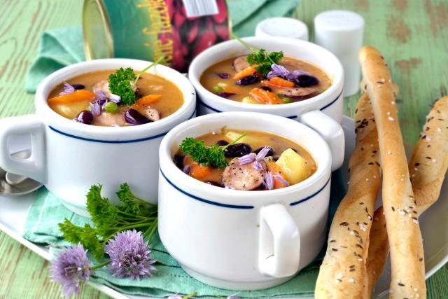 Fazolová polévka (ilustrační foto)