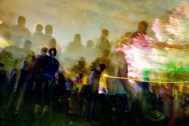 Hudební festival (ilustrační foto)