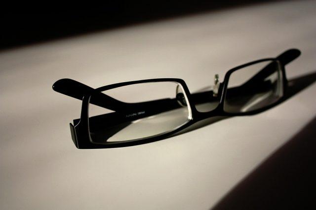 Brýle, dioptrické brýle (ilustrační foto)
